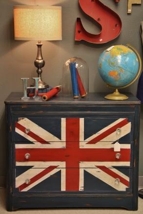 Union Jack Chest #325 39 W x 17 1/2 D x 33T