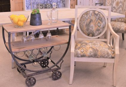 Bar cart sold- Chair still available