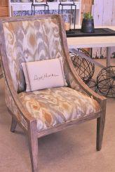 White Gray Chair